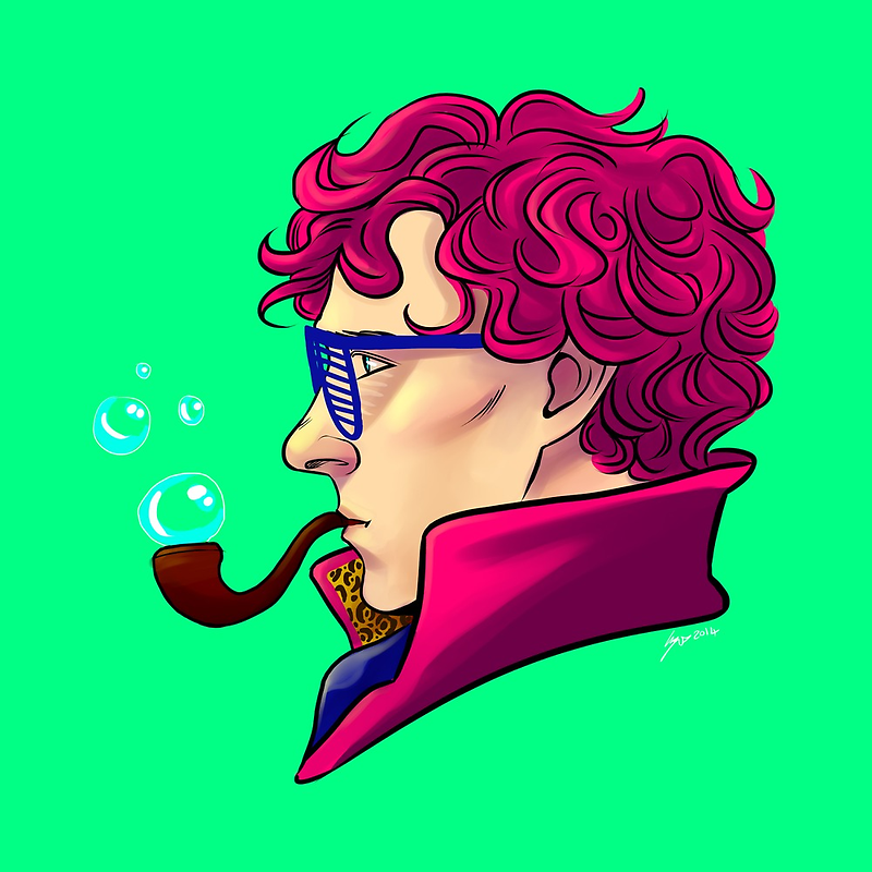 Party Sherlock [pink] by kafers