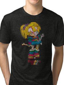 Rainboo Died Tri-blend T-Shirt