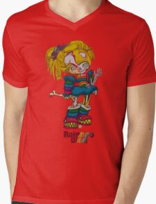 Rainboo Died Mens V-Neck T-Shirt