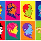 The many faces of Sherlock Holmes by kafers