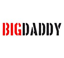 Big Daddy stamp father's day Dad father hero by Style-O-Mat
