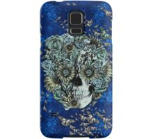 Royal Constant, floral butterfly skull Samsung Galaxy Case/Skin