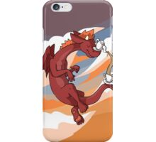 Red Tea Dragon iPhone Case/Skin