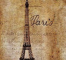 Old Eiffel Tower by Electraa