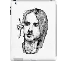 Kurt Cobain iPad Case/Skin