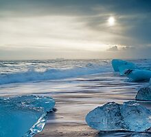 Ice Beach Jokulsarlon by Nick Jenkins