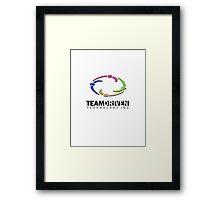 TDT Logo Design w/o saying Framed Print