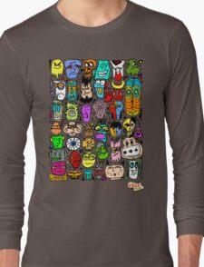 CRAZY DOODLE 2 Long Sleeve T-Shirt