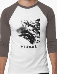 EYE OF VISION Men's Baseball ¾ T-Shirt
