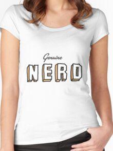 OLD SCHOOL NERD Women's Fitted Scoop T-Shirt