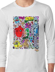 CRAZY DOODLE 3 Long Sleeve T-Shirt