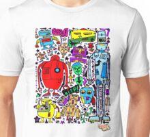 CRAZY DOODLE 3 Unisex T-Shirt