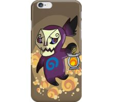 Purple Poe iPhone Case/Skin