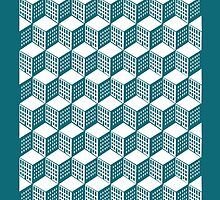 City grid by PeloMondo