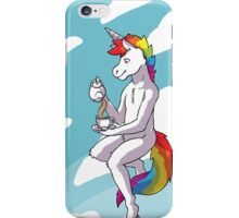 Unicorn Tea-Time iPhone Case/Skin