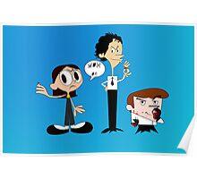 Dexter's Killing Lab Poster