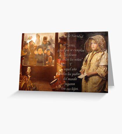 Carta de Navidad Greeting Card