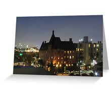West 9th Street Greeting Card