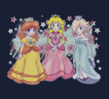 Princess Peach, Daisy and Rosalina by SaradaBoru