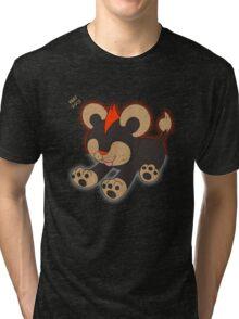 Litleo Distressed  Tri-blend T-Shirt