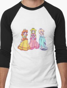 Princess Peach, Rosalina and Princess Daisy Men's Baseball ¾ T-Shirt