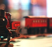 Wonderful Vintage Wind Up Train Set Old Toy Collectable by ARTificiaLondon
