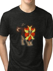 Pyroar Distressed Tri-blend T-Shirt