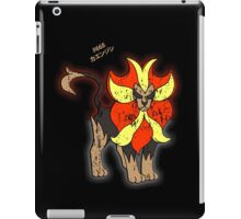 Pyroar Distressed iPad Case/Skin
