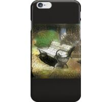 Peace in Park iPhone Case/Skin