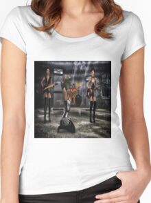 Garage Band Women's Fitted Scoop T-Shirt