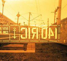 Railroad by krolikowskiart