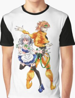 Sakuya & DIO-sama Graphic T-Shirt