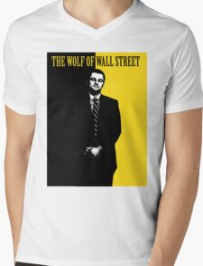 Wolf of Wall Street - Scarface Mens V-Neck T-Shirt