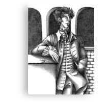 Sherlock - Alternative Universe Canvas Print