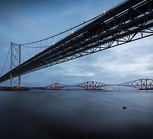 Forth Bridges. by Don Munro Photography