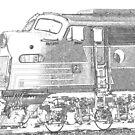 GM/EMD E Series by John Schneider