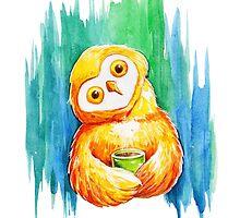 Drawing cute owl by olarty