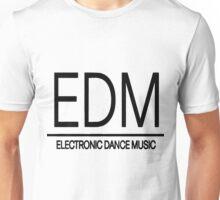 EDM - Black Unisex T-Shirt
