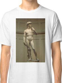 David; Michelangelo's Masterpiece Classic T-Shirt