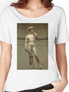 David; Michelangelo's Masterpiece Women's Relaxed Fit T-Shirt