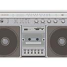 Boombox Radio by jcmeyer