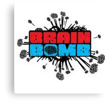 Brain Bomb Canvas Print