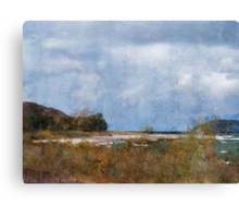 Lake Michigan Autumn Canvas Print