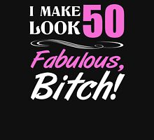 Fabulous 50th Birthday T-Shirt Womens Fitted T-Shirt