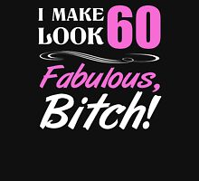 Fabulous 60th Birthday T-Shirt Womens Fitted T-Shirt