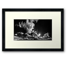 ©TSS The Sun Series XIX Move On With The Wind IIAR Monochromatic Framed Print