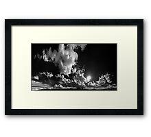 ©TSS The Sun Series XIX Move On With The Wind IIAR Monochromatic Framed Print