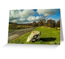 The lone rock Greeting Card