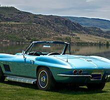 1967 Corvette Stingray Convertible II by DaveKoontz