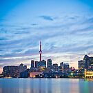 Toronto Skyline  by indiabluephotos